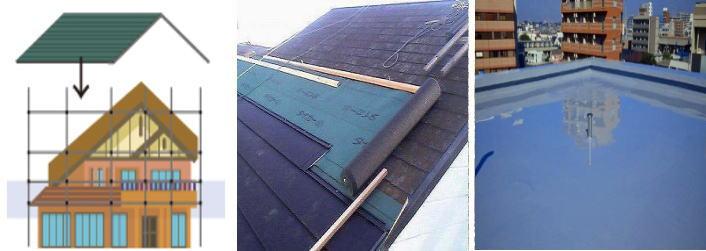 屋根・屋上工事のイメージ